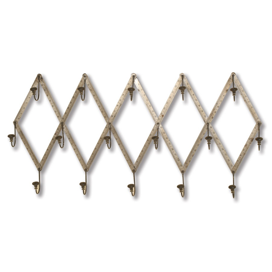 2441 Wall Mounted Coat Rack Passport Accent Furniture